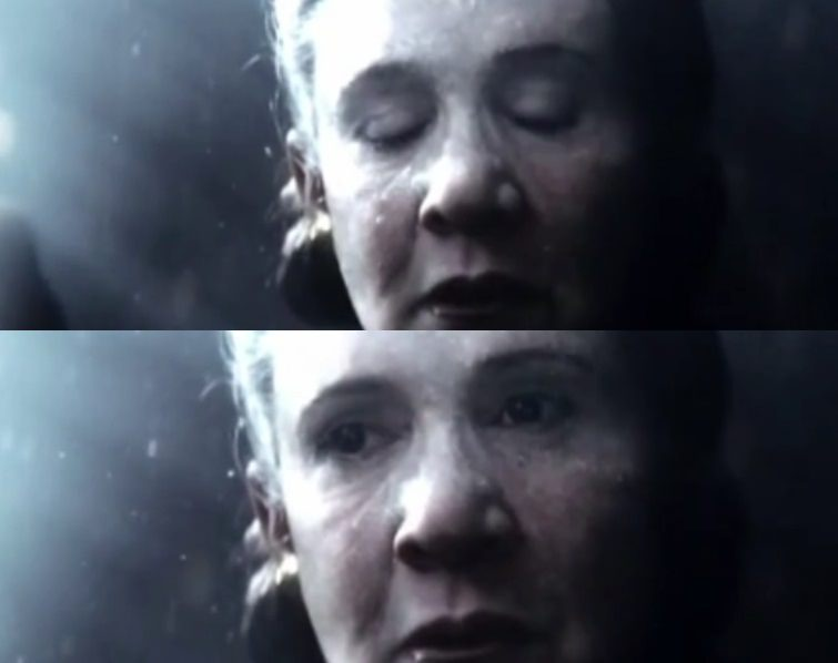 Image result for flying leia