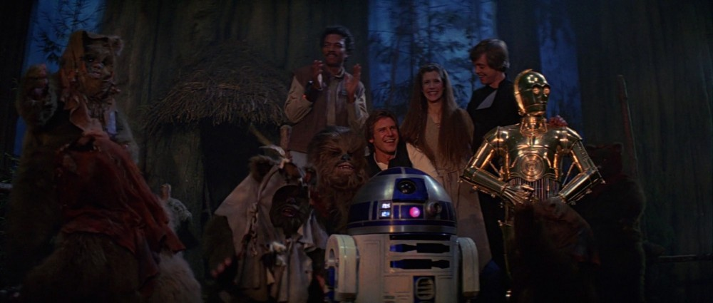 end of return of the jedi